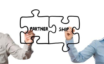 Make a favorable partnership
