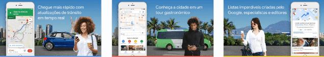 google maps brazil