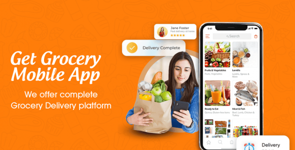 grocery delivery app