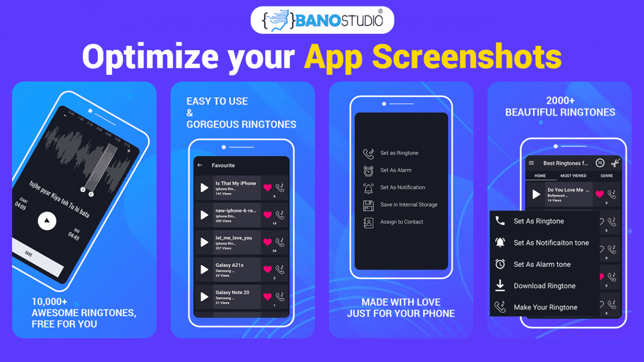 optimize your app screenshots